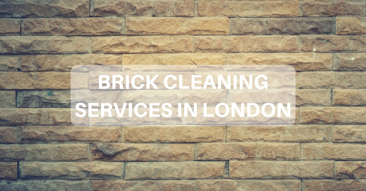 Brick Cleaning in London - Brick Wall Cleaning Services