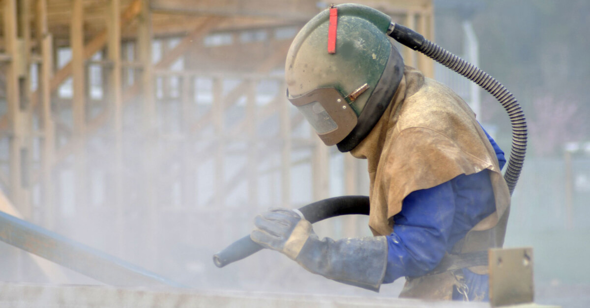 What Is Sandblasting And How Does It Work Basildon